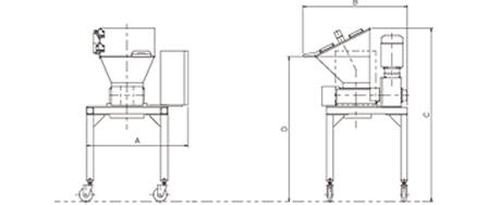 小型二軸破砕機 ECシリーズ