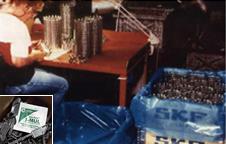 長期間の試験で選ばれた紙製ポーチ入り防錆剤